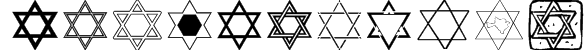 SL Star of David Font
