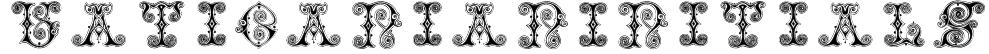 VaticanianInitials Font