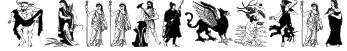GreekMythes Font