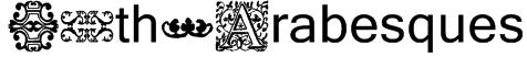 16th_Arabesques Font