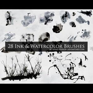 splatter brush