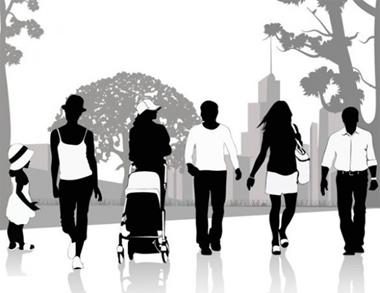 child,creative,design,download,graphic,illustrator,original,vector,web,people,silhouette,unique,vectors,quality,stylish,walking,fresh,high quality,people silhouettes,city park vector