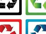 4 Vector Eco Recycle Symbols