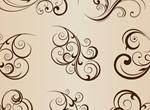 9 Fabulous Floral Vector Elements Set