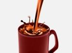Mocha Coffee Splash Vector