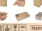 Packing Boxes And Symbols Vector Graphics