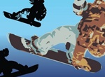 Cool Snowboard Vector Art Illustrations
