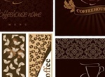 Coffee Shop Vector Menu Cover & Banners