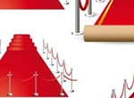 Roll Out The Red Carpet Vector Graphics