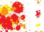4 Drops And Splatter Splashes