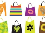 16 Fashion Shopping Bags Vector Set