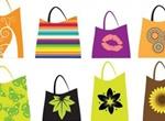 16 Fashion Shopping Bags Vector Set