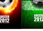4 2012 Soccer Football Vector Graphics