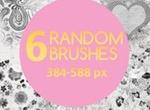 6 Random Brushes
