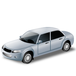 Car, Grey, Transportation, Vehicle Icon