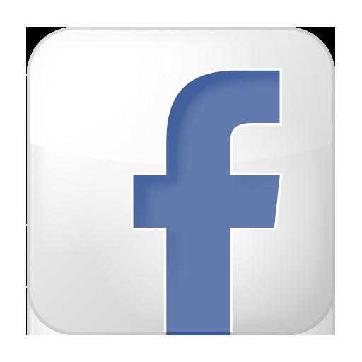 Box, Facebook, Social, White Icon