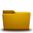 Folder, Yellow Icon