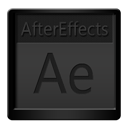 Aftereffects, Black Icon