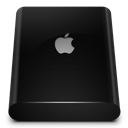 Black, Drive, External Icon