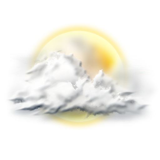 Partly, Sunny Icon