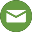 Border, Email, Round, With Icon