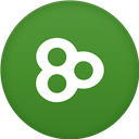 Circle, Flat, Go, Launcher Icon