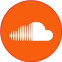 Border, Round, Soundcloud, With Icon