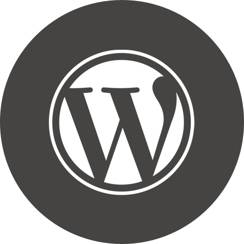 Round, Wordpress Icon