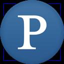 Circle, Flat, Pandora Icon
