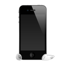 4g, Apple, Headphones, Iphone, Mobile Icon