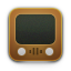 Brown, Old, Retro, Television, Tv, Video, Wood, Youtube Icon