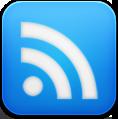 Blue, Google, Reader Icon