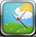 Clock, Weather Icon