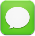 Green, Message Icon
