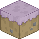 3d, Minecraft, Mycelium Icon