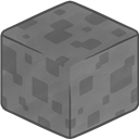3d, Minecraft, Stone Icon