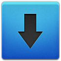Blue, Downloads Icon