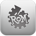 Gray, Manager, Rom Icon