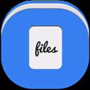 Alt, Files, Flat, Round Icon