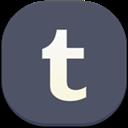 Flat, Round, Tumblr Icon