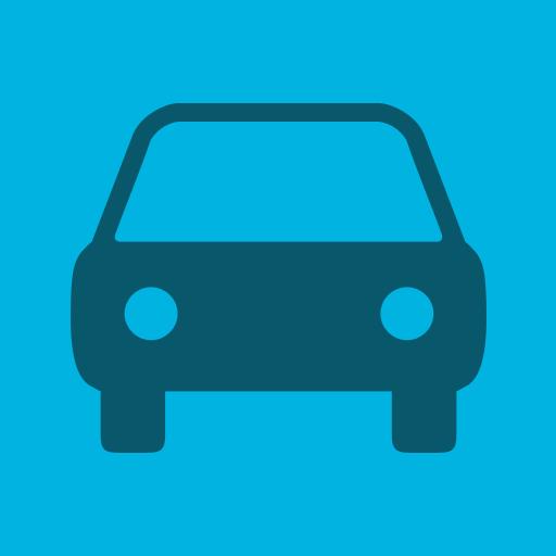 Car, Flat, Navigation Icon