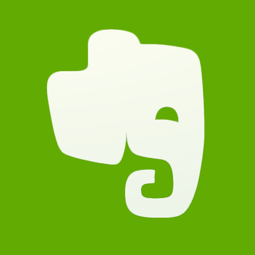 Evernote, Flat Icon