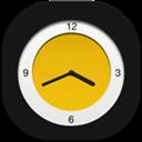 Analog, Clock, Flat, Round Icon