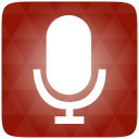 Recorder, Red, Sound Icon