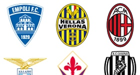 Italian Football Clubs Icons