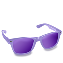 Glasses, Purple Icon