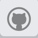 Flat, Github Icon