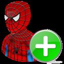 Add, Spiderman Icon
