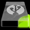 , Drive, External, Sg, Usb Icon