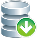 Database, Down Icon